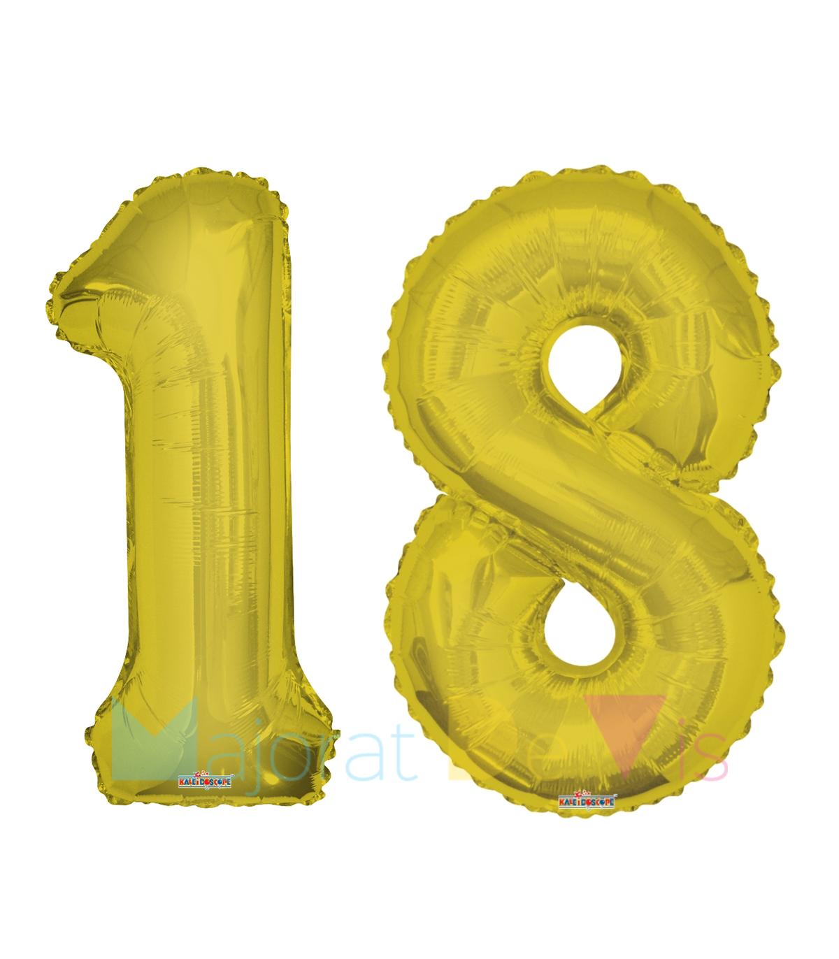 set-cifre-18-auriu-100-cm-majorat