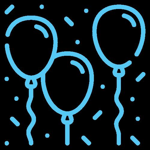 majorat de vis baloane icon