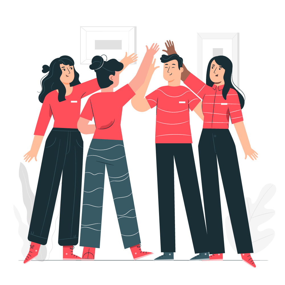 majorat-de-vis-team-work